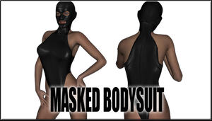 Masked Bodysuit for Genesis 2 Female