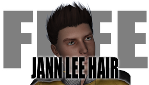 Jann Lee Hair for Genesis