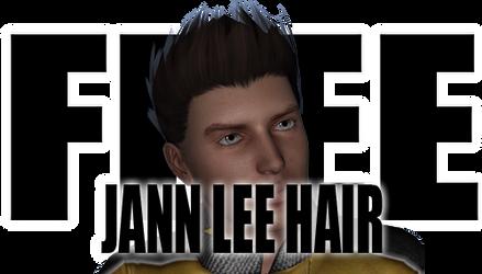 Jann Lee Hair for Genesis