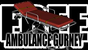 Ambulance Gurney for DAZ Studio