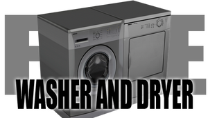 Washer and Dryer Props for DAZ Studio (and Poser)