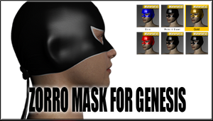 Zorro Mask for Genesis