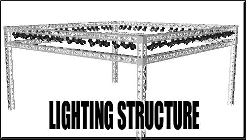 Lighting Structure for DAZ Studio