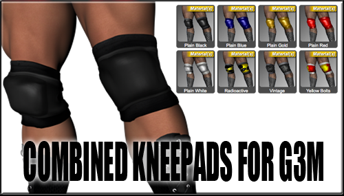 Improved Combined Kneepads for G3M by sedartonfokcaj