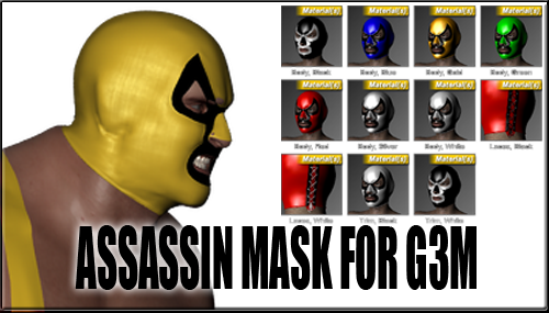 Assassin Mask for G3M by sedartonfokcaj