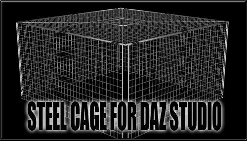 Steel Cage for DAZ Studio