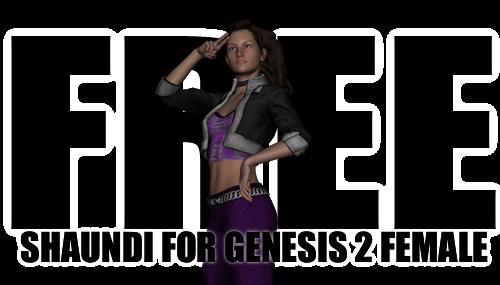 [Free] Shaundi Outfit for Genesis 2 Female by sedartonfokcaj