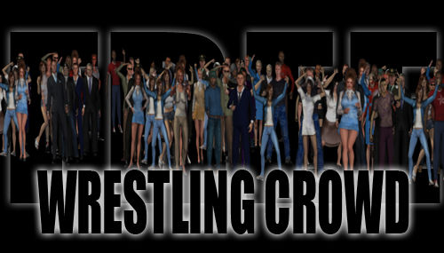 [Free] Wrestling Crowd for DAZ Studio