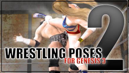 Genesis 3 Wrestling Pose Pack #2