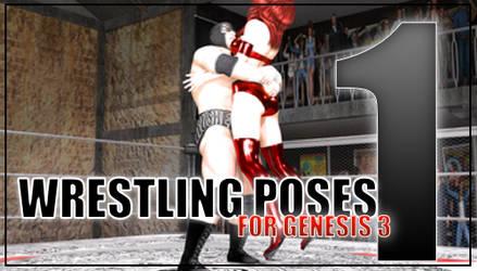 Genesis 3 Wrestling Pose Pack #1 (Updated)