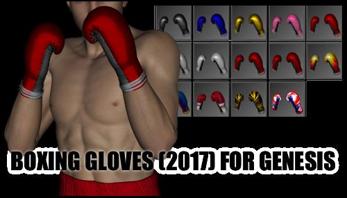 Boxing Gloves (2017) for Genesis by sedartonfokcaj