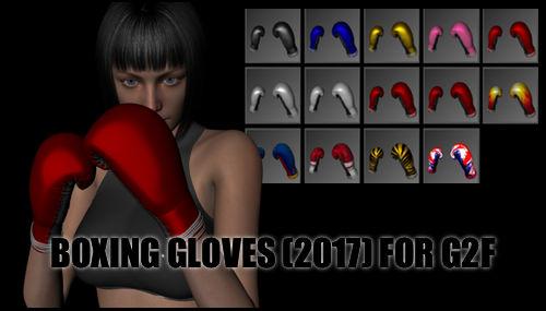 Boxing Gloves (2017) for Genesis 2 Female