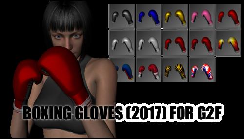 Boxing Gloves (2017) for Genesis 2 Female by sedartonfokcaj