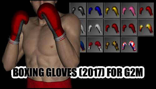 Boxing Gloves (2017) for Genesis 2 Male by sedartonfokcaj
