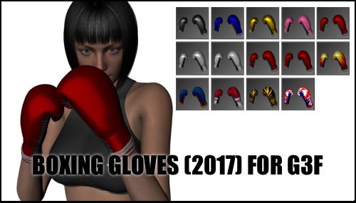 Boxing Gloves (2017) for Genesis 3 Female by sedartonfokcaj