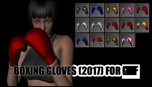 Boxing Gloves for Genesis 8 Female by sedartonfokcaj