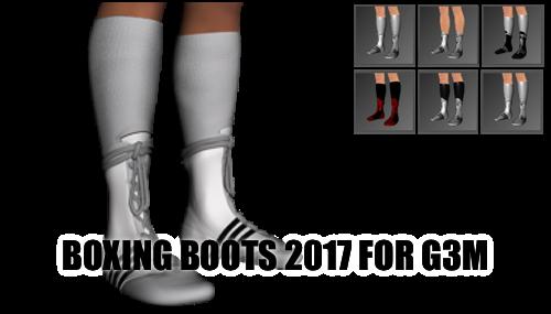 Boxing Boots for Genesis 3 Male by sedartonfokcaj