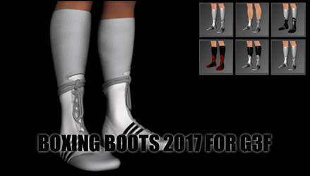 Boxing Boots 2017 for Genesis 3 Female