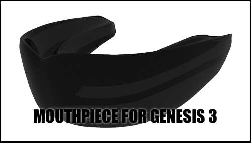 Mouthpiece for Genesis 3 Figures by sedartonfokcaj