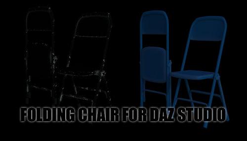 Folding Chair for DAZ Studio