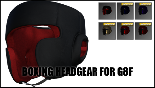 Boxing Headgear (2017) for Genesis 8 Female by sedartonfokcaj