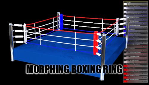 Morphing Boxing Ring (2017) or DAZ Studio by sedartonfokcaj