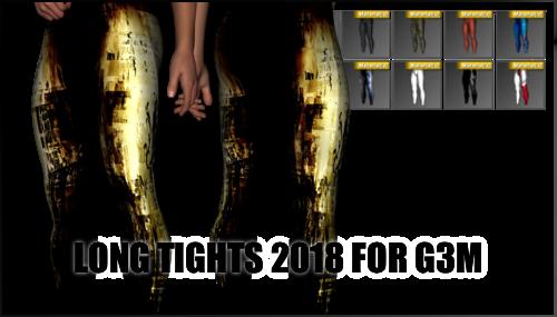 Long Tights 2018 for Genesis 3 Male by sedartonfokcaj