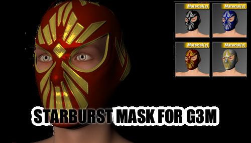 Starburst Mask for Genesis 3 Male by sedartonfokcaj