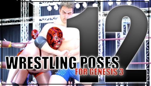 Genesis 3 Wrestling Pose Pack #012 by sedartonfokcaj