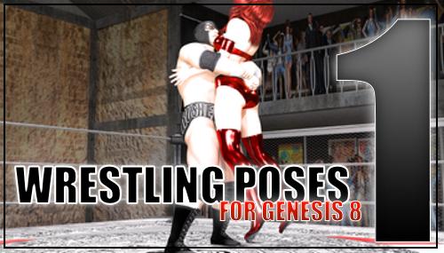 Genesis 8 Wrestling Pose Pack #001 by sedartonfokcaj