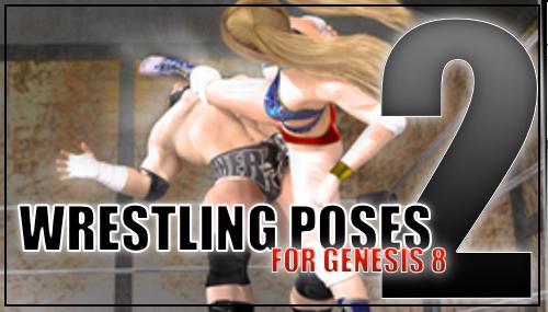 Genesis 8 Wrestling Pose Pack #002 by sedartonfokcaj