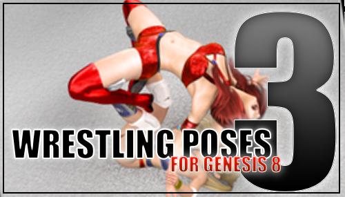 Genesis 8 Wrestling Pose Pack #003 by sedartonfokcaj