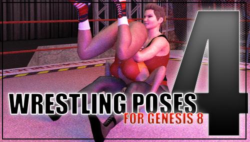 Genesis 8 Wrestling Pose Pack #004 by sedartonfokcaj
