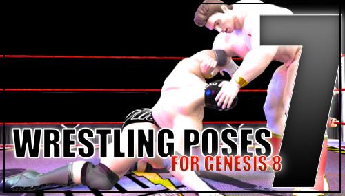 Genesis 8 Wrestling Pose Pack #007 by sedartonfokcaj