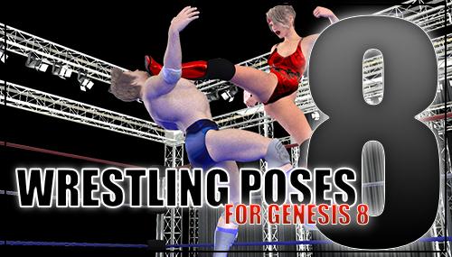 Genesis 8 Wrestling Pose Pack #008 by sedartonfokcaj