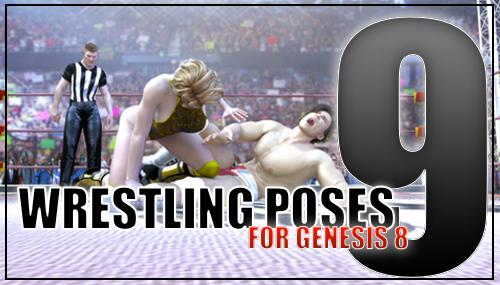 Genesis 8 Wrestling Pack #009 by sedartonfokcaj