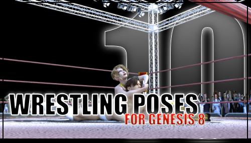 Genesis 8 Wrestling Pose Pack #010 by sedartonfokcaj