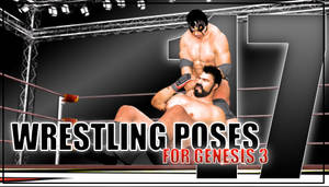 Genesis 3 Wrestling Pose Pack #017