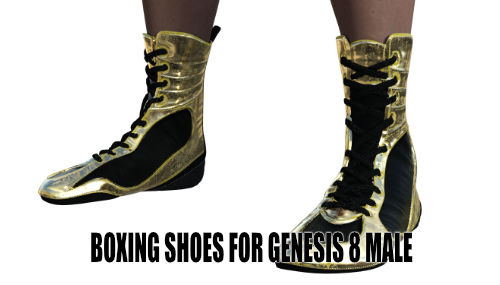 Boxing Shoes 2020 for Genesis 8 Male
