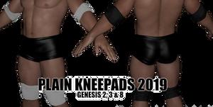Plain Pads for DAZ Studio Genesis Figures