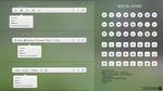 website menu + social icons freebies
