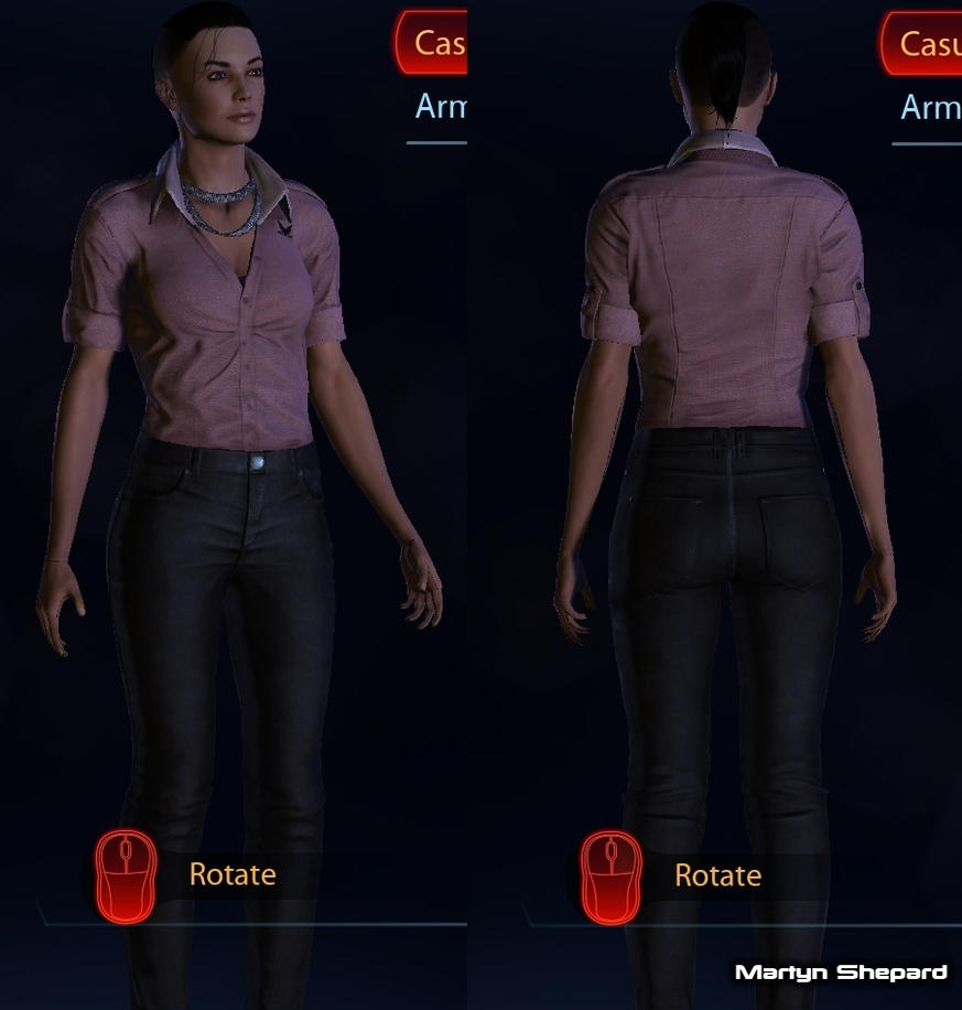 Me3 femshep dress mod style