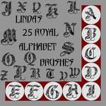 Royal-Alphabet-Brushes