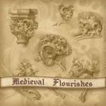 Medieval Stone Flourishes by Lucida