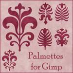 Palmettes Brushes for Gimp