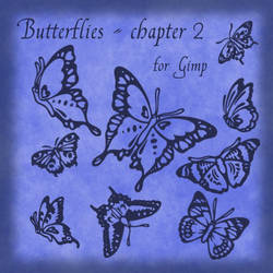 Butterflies - Chapter II for Gimp by Lucida