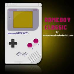 Gameboy Classic psd