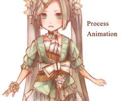 SpiritVillage: Haibana Progress Animation