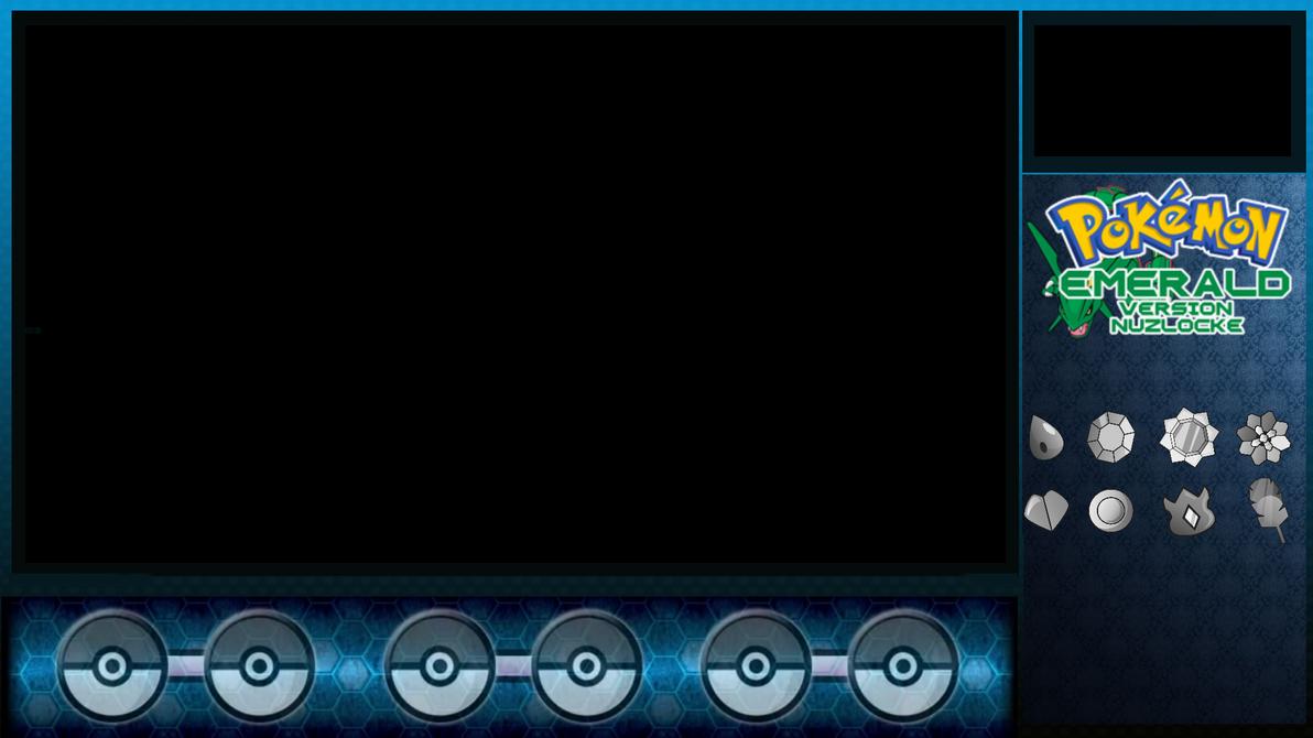 Pokemon Emerald Nuzlocke Overlay By Intextion96 On Deviantart