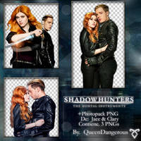 +PhotopackPNG|JACE Y CLARY|BY QueenDangerous